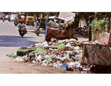 В индийском городе установили тысячи камер для наблюдения за сжиганием мусора